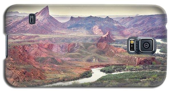San Juan River And Mule's Ear Galaxy S5 Case