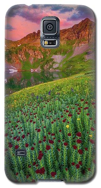 Galaxy S5 Case featuring the photograph San Juan Sunrise by Darren White
