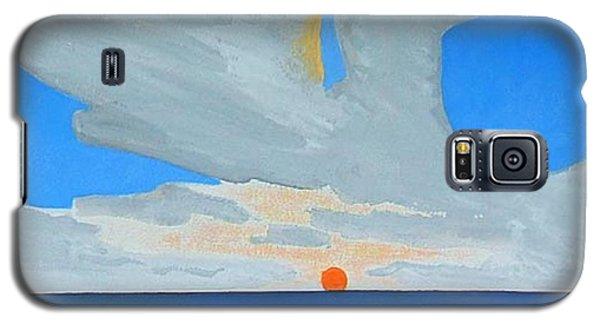 San Juan Sunrise Galaxy S5 Case by Dick Sauer