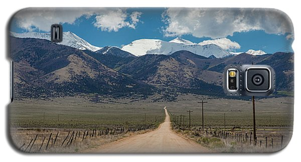San Luis Valley Back Road Cruising Galaxy S5 Case by James BO Insogna