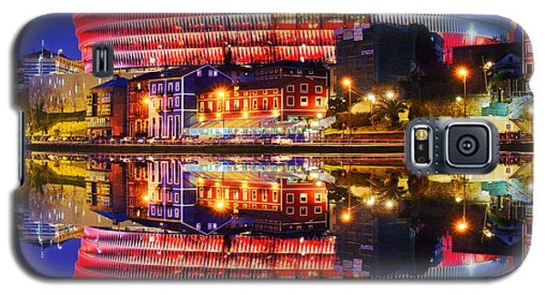 San Mames Stadium At Night With Water Reflections Galaxy S5 Case