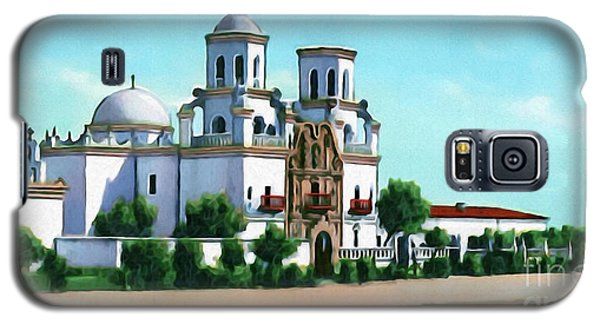San Xavier Del Bac Mission Galaxy S5 Case