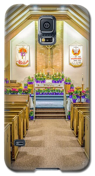 Galaxy S5 Case featuring the photograph Sanctuary At Easter by Nick Zelinsky