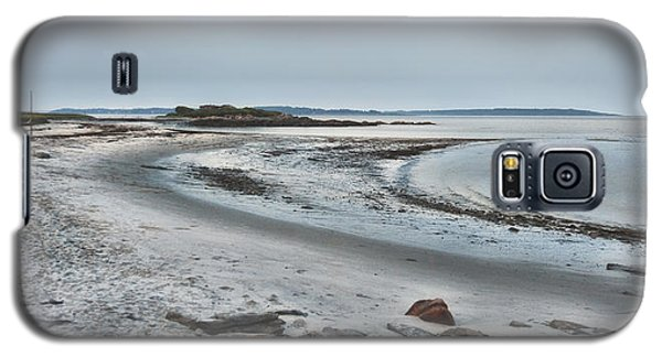 Galaxy S5 Case featuring the photograph Sand Along The Shoreline by Richard Bean