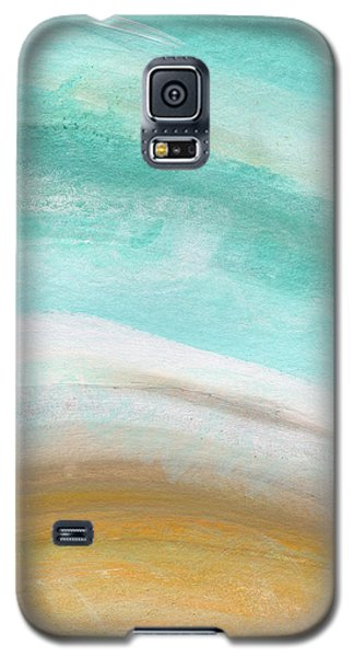 Sand And Saltwater- Abstract Art By Linda Woods Galaxy S5 Case