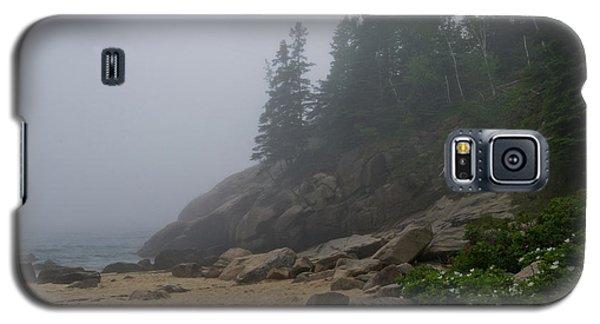 Sand Beach In A Fog Galaxy S5 Case