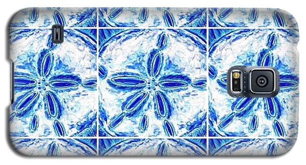 Sand Dollar Delight Pattern 3 Galaxy S5 Case