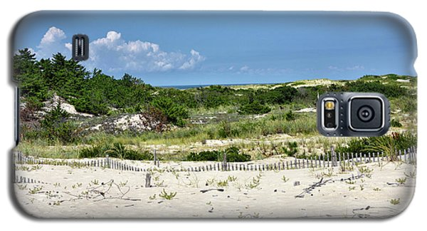 Galaxy S5 Case featuring the photograph Sand Dune In Cape Henlopen State Park - Delaware by Brendan Reals