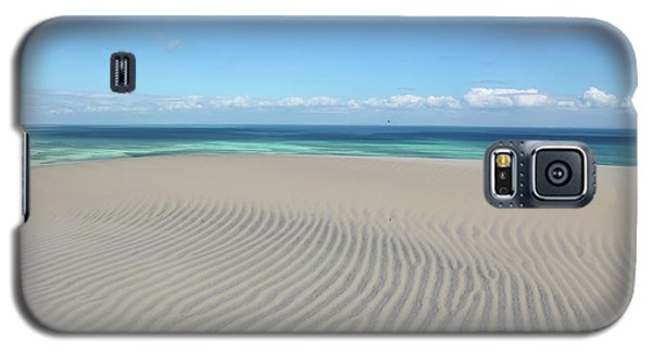 Sand Dune Ripples And The Ocean Beyond Galaxy S5 Case