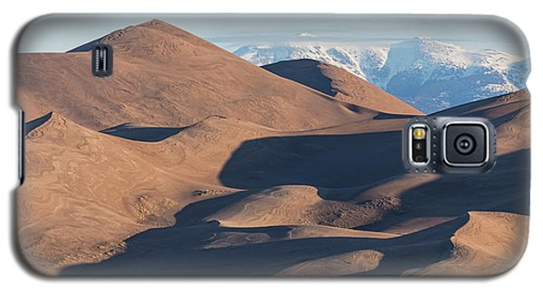 Sand Dunes And Rocky Mountains Panorama Galaxy S5 Case by James BO Insogna