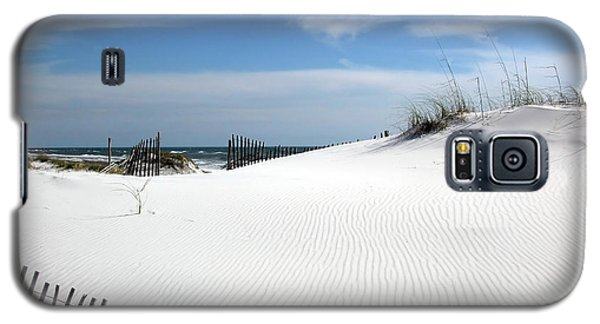 Galaxy S5 Case featuring the photograph Sand Dunes Dream by Marie Hicks