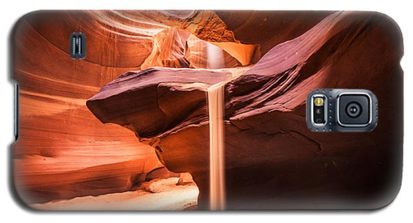 Sand Falls In Antelope Canyon Galaxy S5 Case