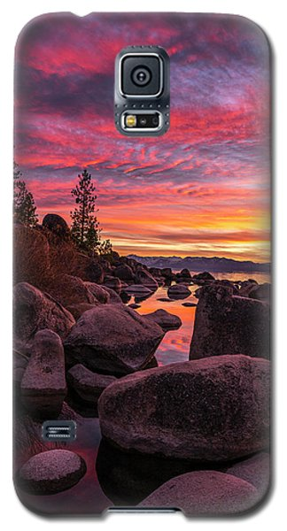 Sand Harbor Beach Galaxy S5 Case