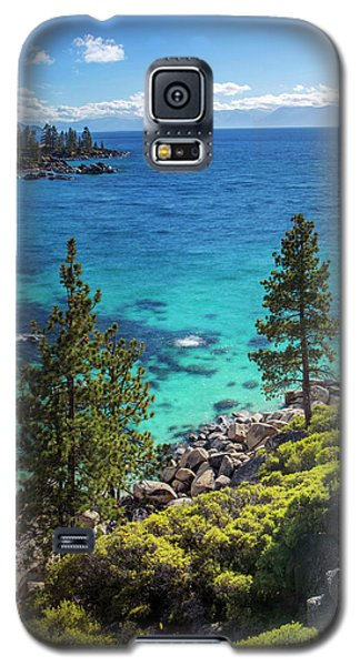 Sand Harbor Lookout By Brad Scott - Square Galaxy S5 Case