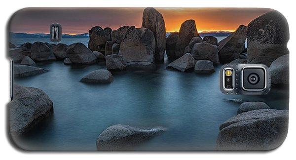 Sand Harbor Sunset Galaxy S5 Case