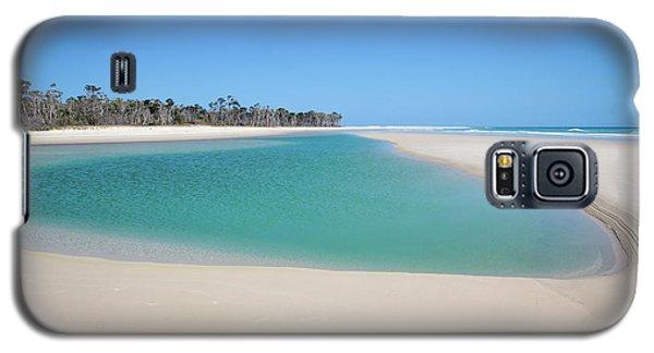 Sand Island Paradise Galaxy S5 Case