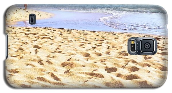 Sand Sea And Shadows Galaxy S5 Case