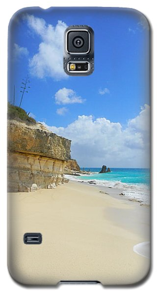 Sand Sea And Sky Galaxy S5 Case by Expressionistart studio Priscilla Batzell