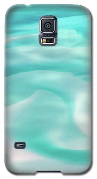 Galaxy S5 Case featuring the photograph Sand Swirls by Az Jackson