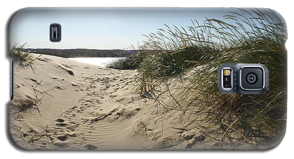 Galaxy S5 Case featuring the photograph Sand Tracks by Tara Lynn
