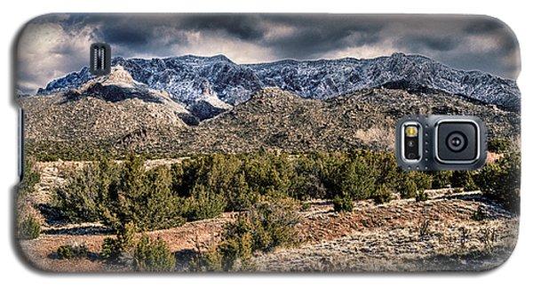 Sandia Mountain Landscape Galaxy S5 Case by Alan Toepfer