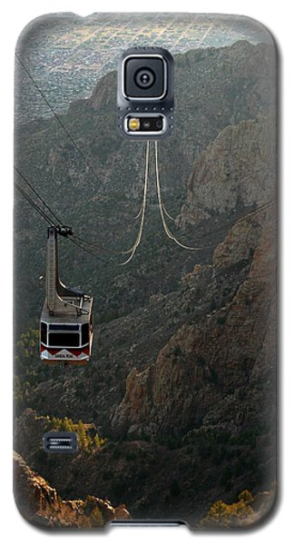 Sandia Peak Cable Car Galaxy S5 Case by Joe Kozlowski