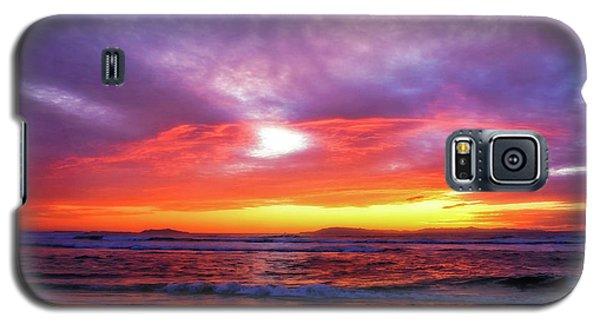 Sandpiper Sunset Ventura California Galaxy S5 Case