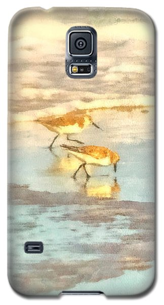 Sandpipers Along The Shoreline Galaxy S5 Case