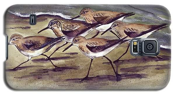 Sandpipers Galaxy S5 Case by Nancy Patterson