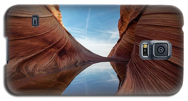 Sandstone And Sky Galaxy S5 Case