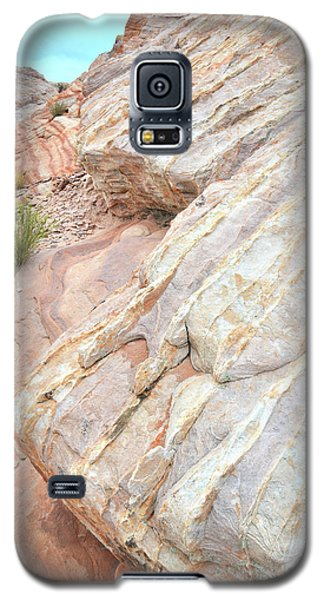 Galaxy S5 Case featuring the photograph Sandstone Feet In Valley Of Fire by Ray Mathis