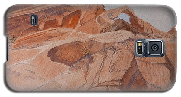 Sandstone Rainbow Galaxy S5 Case by Joel Deutsch