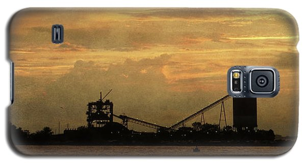 Sandusky Coal Dock Sunset Galaxy S5 Case