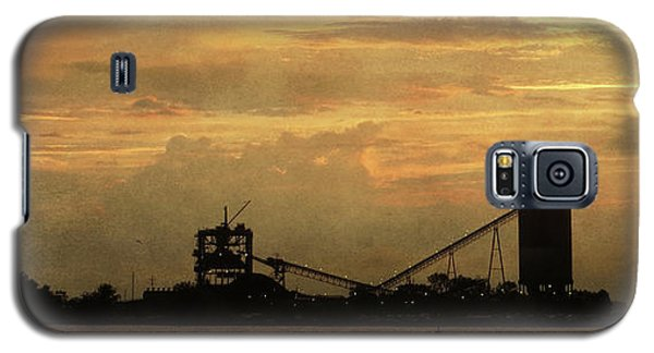 Sandusky Coal Dock Sunset Galaxy S5 Case