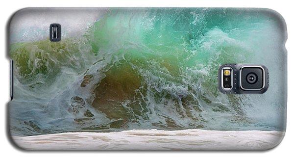 Sandy Beach Surf Galaxy S5 Case