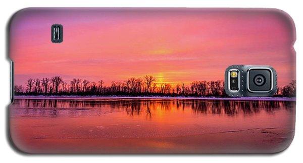 Sandy Chute Sunset Galaxy S5 Case