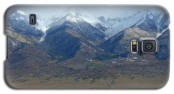 Sangre De Cristo Galaxy S5 Case - Sangre De Cristo First Snow by Merja Waters