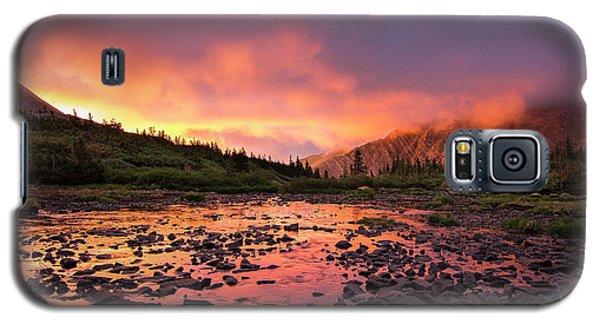 Sangre De Cristo Galaxy S5 Case - Sangre De Cristo Sunset   by Aaron Spong