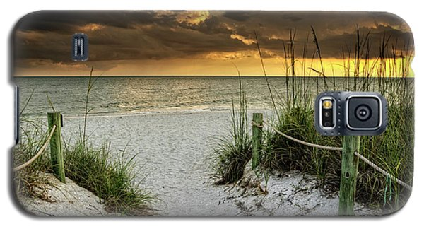 Sanibel Island Beach Access Galaxy S5 Case
