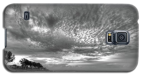 Sanibel Island Sunrise In Black And White Galaxy S5 Case