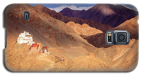 Galaxy S5 Case featuring the photograph Sankar Monastery by Alexey Stiop