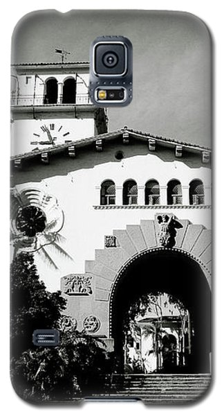 Santa Barbara Courthouse Black And White-by Linda Woods Galaxy S5 Case by Linda Woods