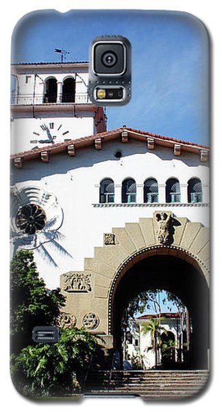 Santa Barbara Courthouse -by Linda Woods Galaxy S5 Case by Linda Woods