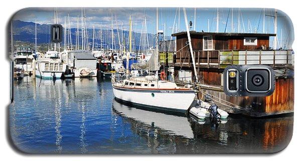 Galaxy S5 Case featuring the photograph Santa Barbara Harbor by Kyle Hanson