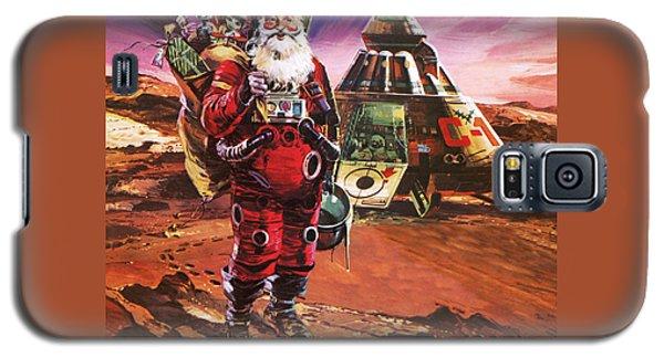 Santa Claus On Mars Galaxy S5 Case by English School