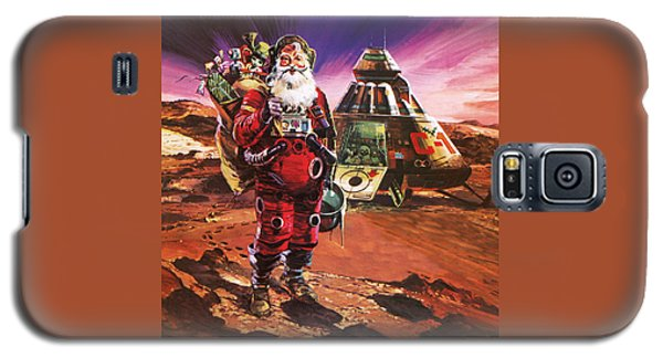 Santa Claus On Mars Galaxy S5 Case by English School