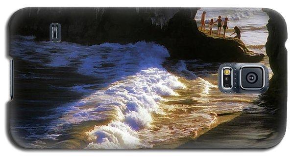 Galaxy S5 Case featuring the photograph Santa Cruz 'bridge' California Coastline by John A Rodriguez
