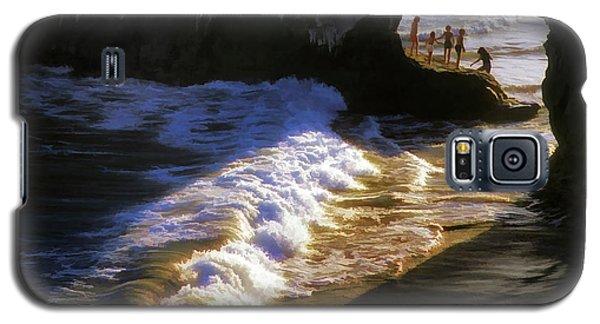 Santa Cruz 'bridge' California Coastline Galaxy S5 Case