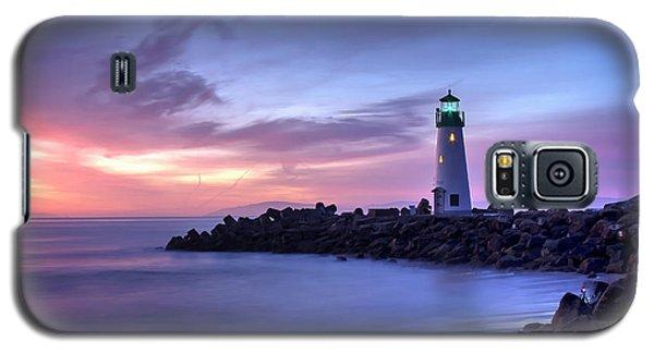 Santa Cruz Harbor Mouth Sunrise Galaxy S5 Case