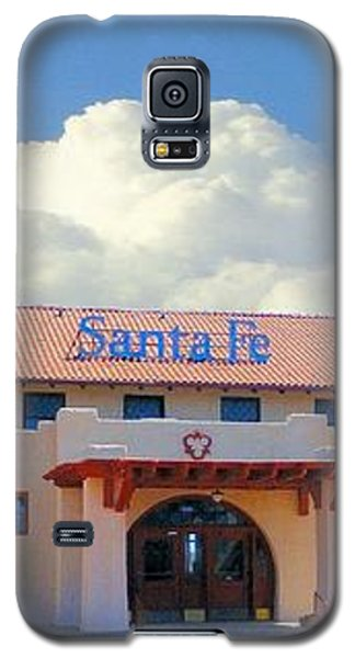 Santa Fe Depot In Amarillo Texas Galaxy S5 Case by Janette Boyd